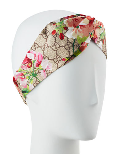 GG Blooms Silk Headband