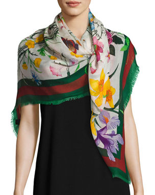 7860bf37c63 Designer Scarves   Wraps for Women at Neiman Marcus