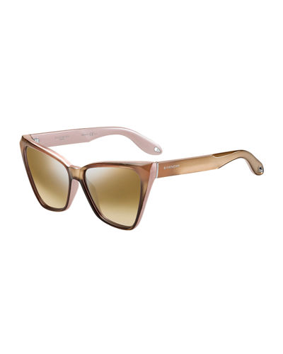 Givenchy Geometric Butterfly Sunglasses
