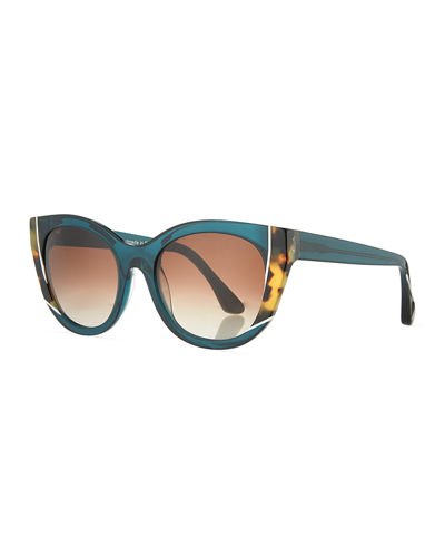 Thierry Lasry Nevermindy Acetate Cat-Eye Sunglasses