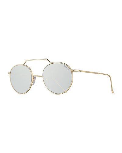 4246dc9bb16 Quick Look. Illesteva · Wynwood II Round Mirrored Sunglasses