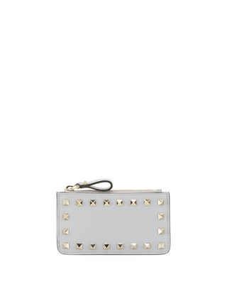 Rockstud Key-Chain Card Case