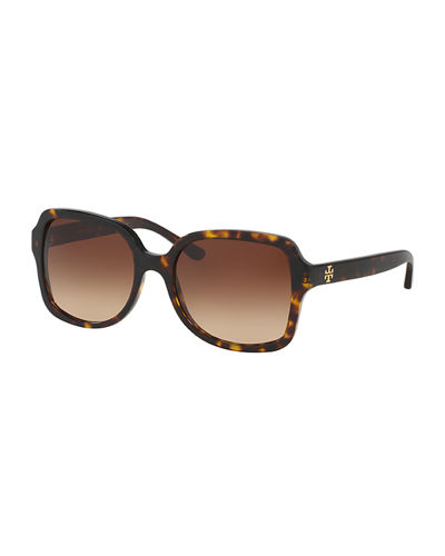 Gradient Square Acetate Sunglasses