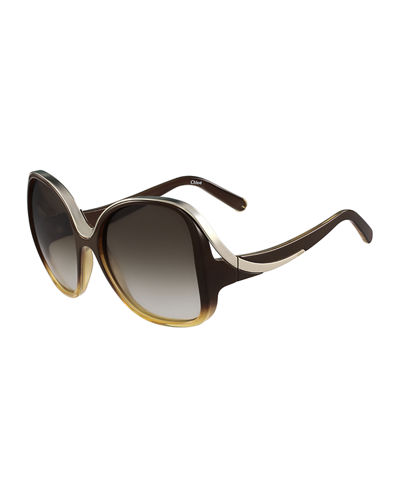 Mandy Square Acetate Sunglasses