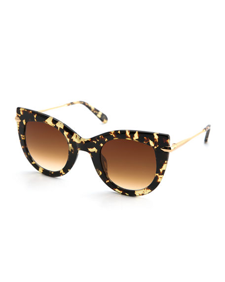 Image 1 of 2: KREWE Laveau Cat-Eye Sunglasses