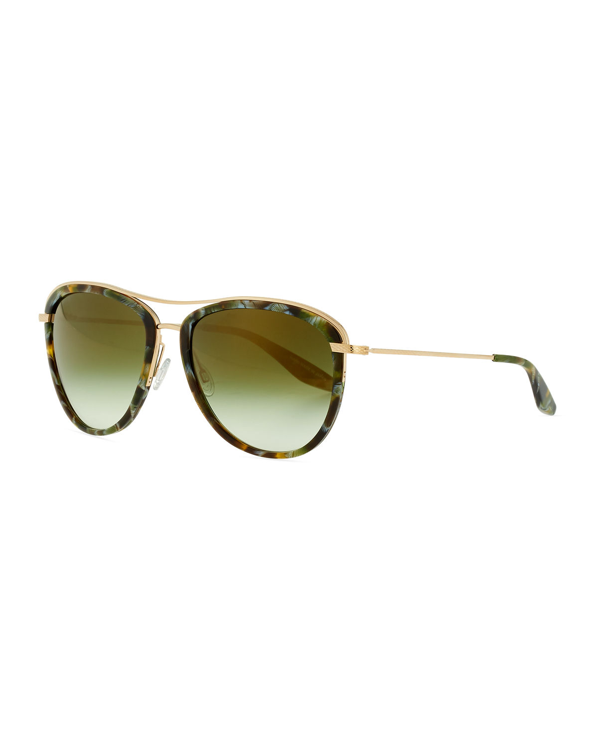 Barton Perreira Sunglasses AVIATRESS UNIVERSAL-FIT AVIATOR SUNGLASSES