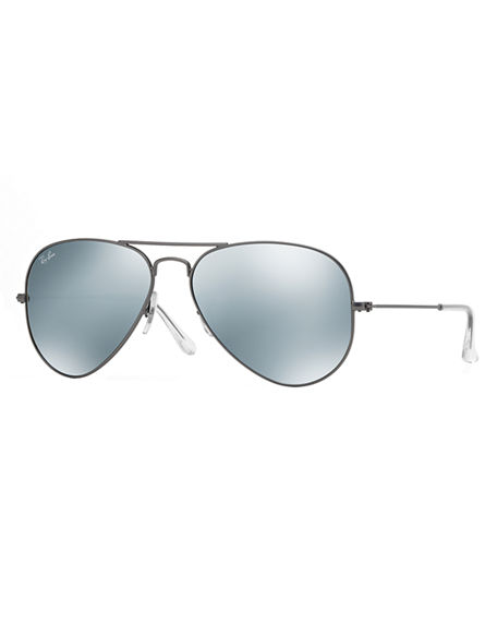 45b8a71e4c5 RAY BAN STANDARD MIRRORED AVIATOR SUNGLASSES
