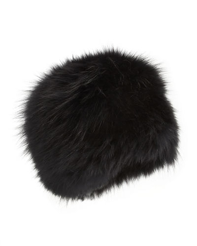 Fox Fur Bubble Hat
