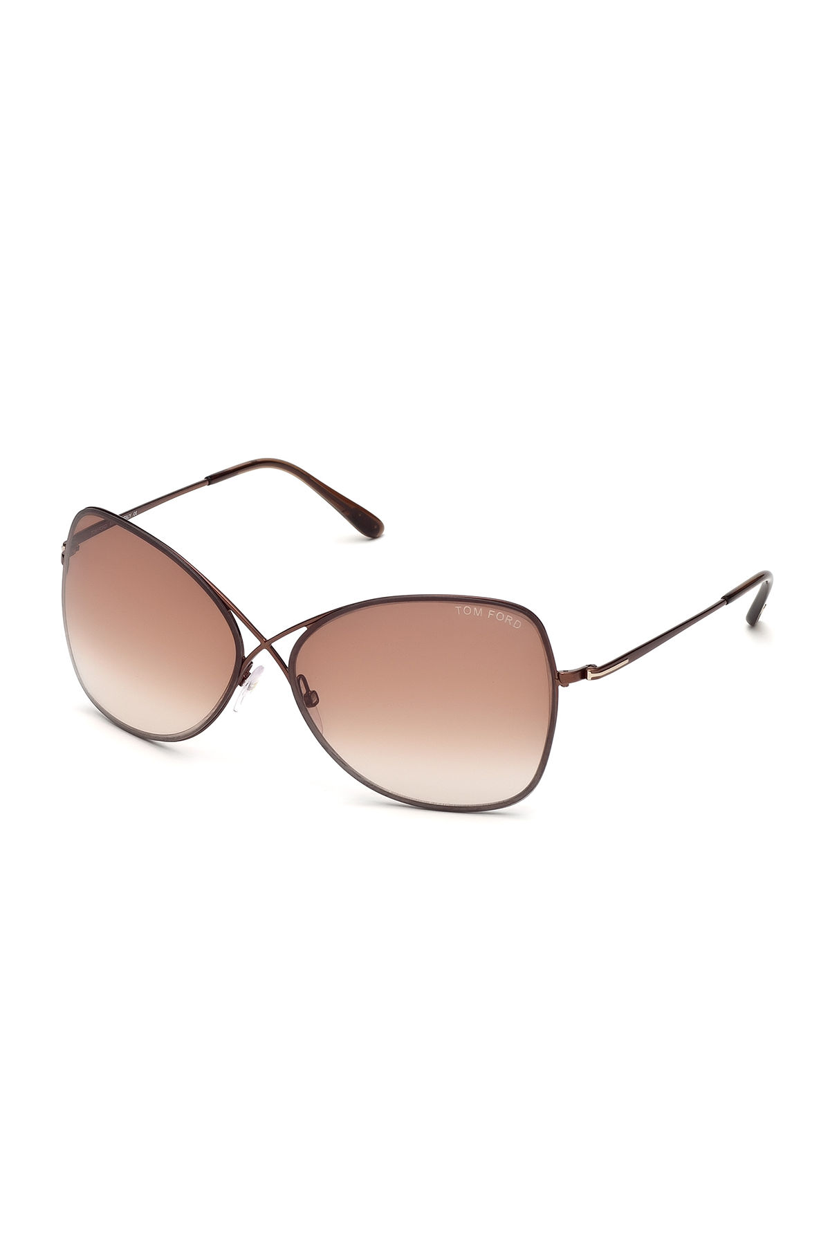 b6553789c01 TOM FORD Colette Metal-Frame Butterfly Sunglasses