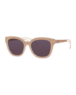 Dior Diorama Caged Mirrored Sunglasses
