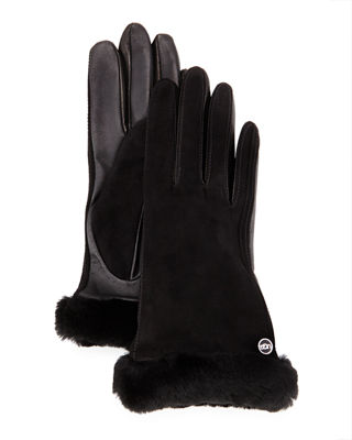 UGG Carry Forward Classic Suede Smart Gloves