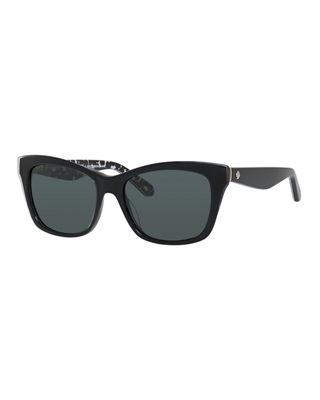 Image 1 of 2: jenae plastic rectangle sunglasses