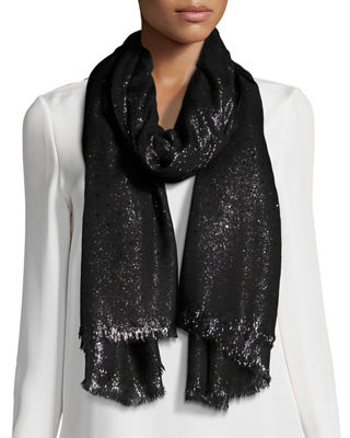 Duo Crystal Metallic Stole