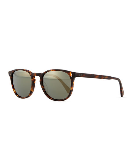 Image 1 of 3: Oliver Peoples Finley Universal-Fit Photochromic Sunglasses