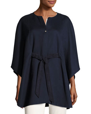 Loro Piana Avery Double-Face Cashmere Cape