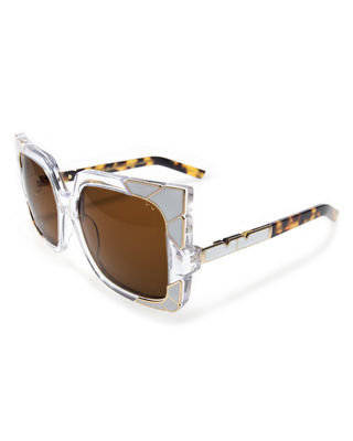 Image 1 of 3: Sun and Shade Square Sunglasses