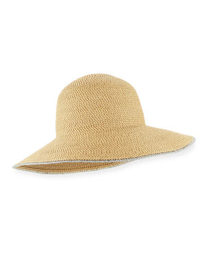 e707e7f02e7 Eric Javits Hampton Squishee Packable Sun Hat