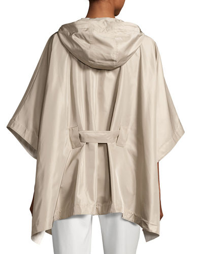 Judith Hooded Waterproof Cape