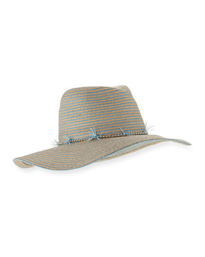 Jeanne Braided Straw Sun Hat