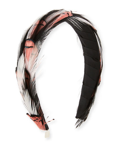 Stella Feather Headband