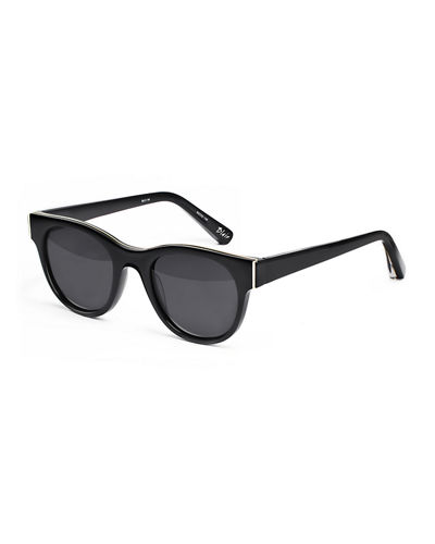 Elizabeth and James Blair Square Monochromatic Sunglasses