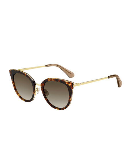 988fb1de3919a Image 1 of 2  kate spade new york jazzlyn cat-eye sunglasses