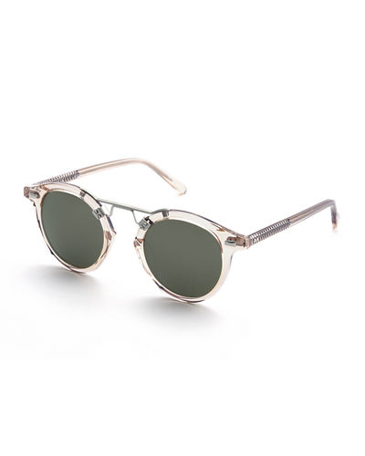 St. Louis Round Two-Tone Sunglasses