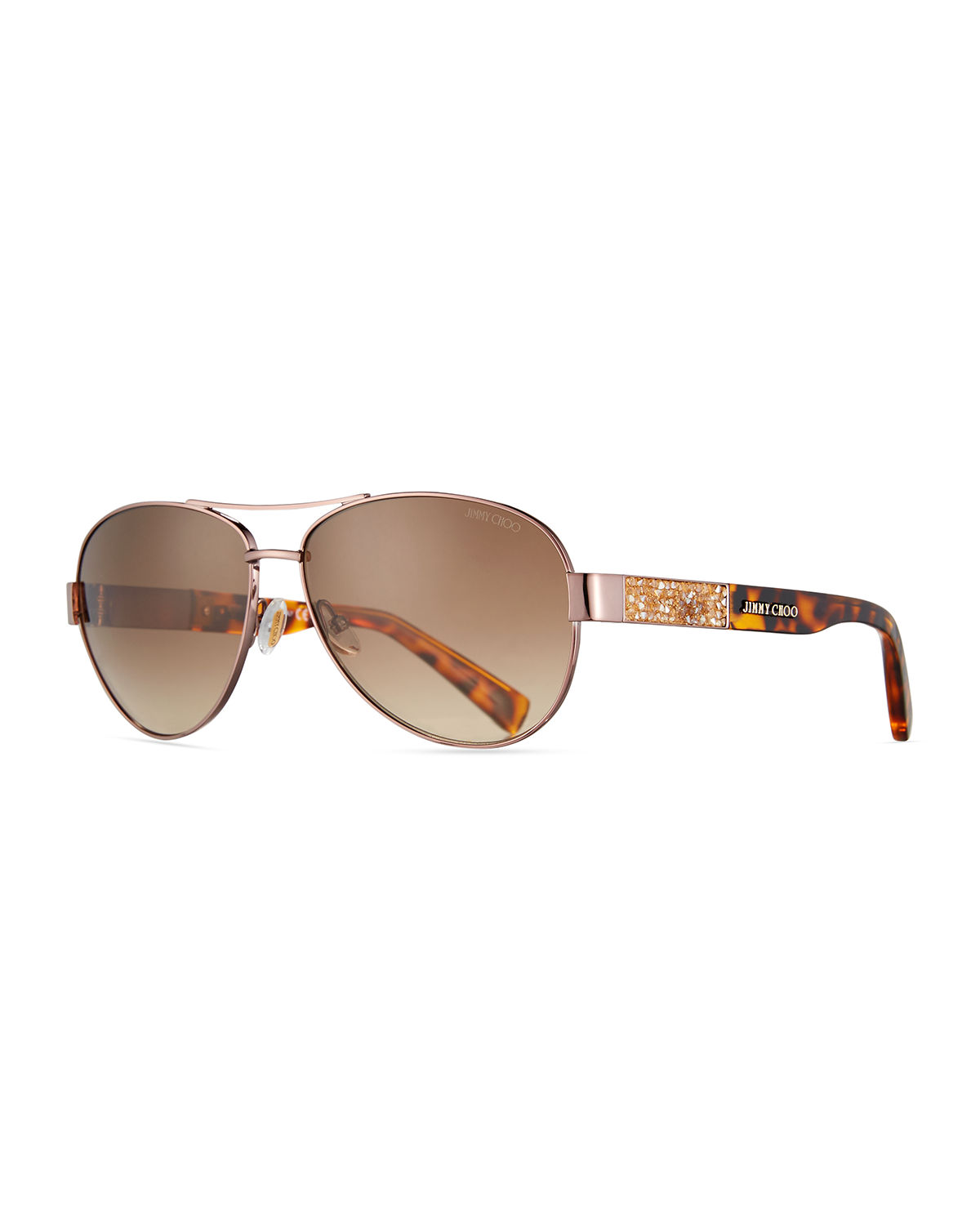 e0105bed0dfb Babas Crystal-Temple Aviator Sunglasses