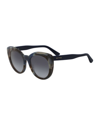 Etro Cat-Eye Acetate Sunglasses