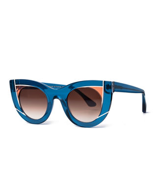 Wavvvy Cat-Eye Sunglasses Thierry Lasry