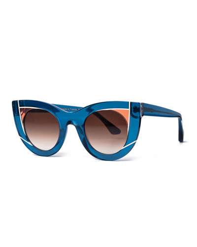Wavvvy Cat-Eye Sunglasses Thierry Lasry VXsJv