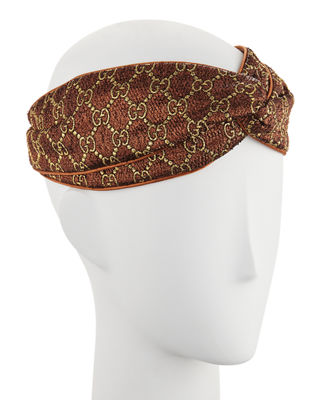 Gucci Supreming Knotted Headband