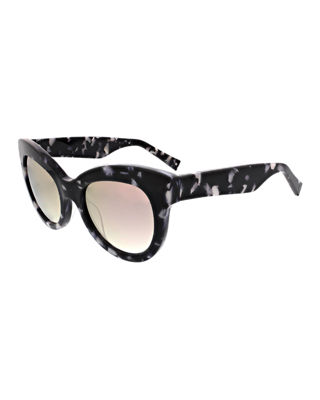 Charli Chunky Cat-Eye Sunglasses