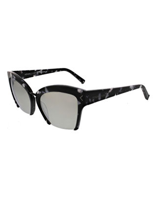 Image 1 of 4: Brooke Cutoff Cat-Eye Sunglasses