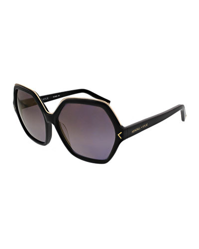 Ludlow Hexagonal Acetate Sunglasses