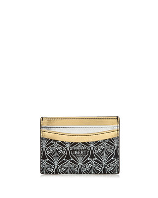 Liberty London Stars Fabric Metallic Card Case