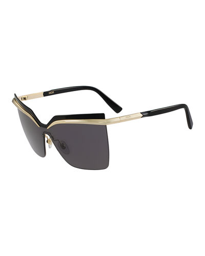 MCM Rimless Shield Sunglasses