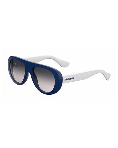Rubber Gradient Wrap Sunglasses