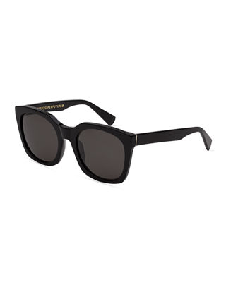 Quadra Square Acetate Sunglasses