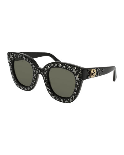 Square Swarvoski® Star Sunglasses