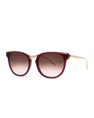 Thierry Lasry Gummy Oversized Square Sunglasses