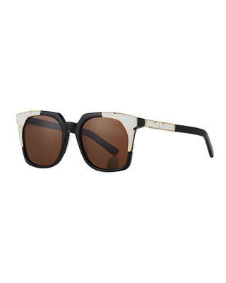 Pared Eyewear Tutti & Fruity Square Sunglasses w/