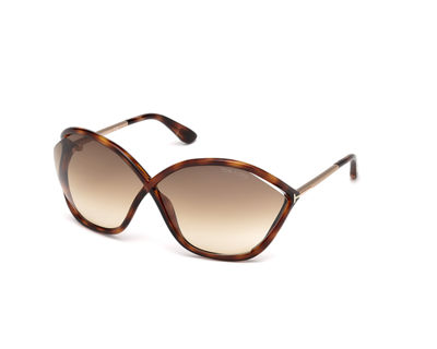 Bella Oversized Open-Inset Sunglasses