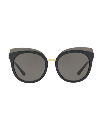 Panama Monochromatic Cat-Eye Sunglasses