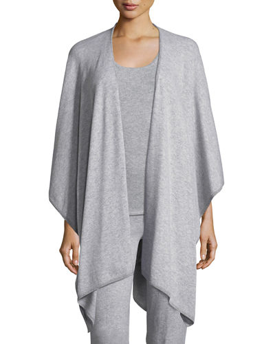 Cashmere Tipped Shawl Cardigan