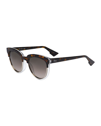 Sight1 Mirrored Round Sunglasses
