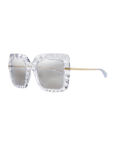 Quick Look. Dolce   Gabbana · Square Faceted Sunglasses 11efce444f