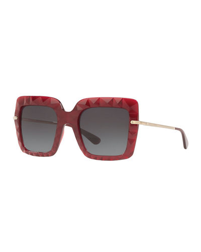 d54280585ed2 Quick Look. Dolce & Gabbana · Square Faceted Sunglasses