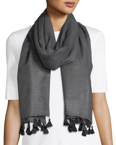 Eileen Fisher Ultra-Soft Wool-Silk Scarf and Matching Items