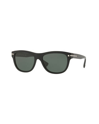 Two-Tone Rockstud Acetate Sunglasses
